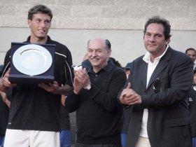 Il vincitore del torneo di Alessandria lo spagnolo Carreno Busta - Foto Julia Vitkovska