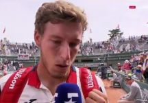 Le lacrime di Pablo Carreno Busta (Video)