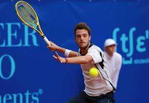 """E' iniziata ufficialmente la nuova avventura di Marco Cecchinato al Tennis Club Genova: """"""""Voglio chiudere l'anno tra i primi cento del mondo in modo da poter partecipare al mio primo torneo del Grande Slam, l'Australian Open, nel tabellone principale"""""""