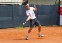 Challenger Roma Rai: Marco Cecchinato lotta, ma perde 7-5 al terzo contro Andrey Golubev. Out Vincenzo Santopadre