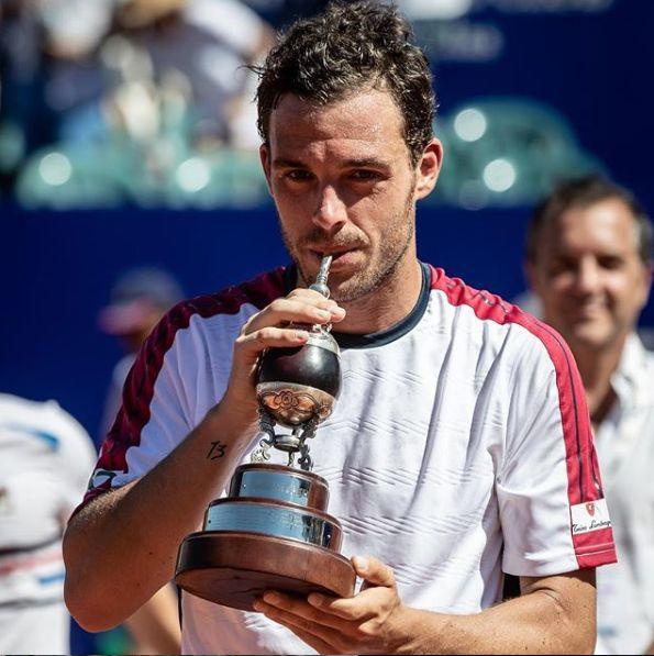 Marco Cecchinato, classe 1992 e n. 17 ATP da domani