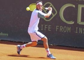 Marco Cecchinato classe 1992, al momento al n.134 ATP - (foto Paolo De Matteo)