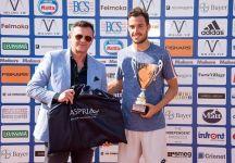 """Marco Cecchinato vince a Milano: """"Ho bisogno di sentire l'affetto del pubblico, sono un uomo del sud e per me è importante, mi dà la carica. Preferisco da sempre giocare in Italia anche se so che qui il livello è sempre più alto"""""""
