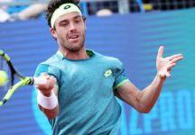 Masters 1000 Roma: rimonta vincente di Goffin contro Marco Cecchinato