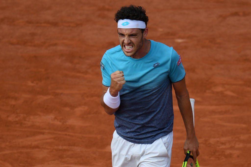 Tennis, Roland Garros: Cecchinato contro Djokovic