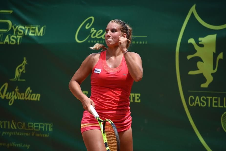 Deborah Chiesa, 20 anni di Trento, ha battuto in due set Alberta Brianti - Foto GAME
