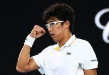 Australian Open:  Hyeon Chung sorprende un Novak Djokovic ancora non al massimo. E' il primo coreano a raggiungere i quarti di finale in un torneo dello Slam (Video)