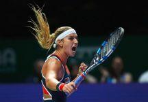 """Dominika Cibulkova sui trofei della WTA: """"Possiamo tenere il trofeo per due settimane, dopodiché riceviamo una replica e dobbiamo restituire la coppa ufficiale nel giro due giorni"""""""