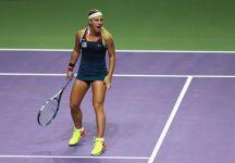 WTA Finals: Dominika Cibulkova travolgente, supera Angelique Kerber in due set con un tennis perfetto conquistando le Finals alla prima partecipazione