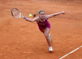 Dominika Cibulkova si è dovuta ritirare per crampi nel match contro la Serbia di Fed Cup 2013