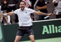 """Davis Cup: Parlano i due protagonisti. Leo Mayer e Marin Cilic. Mayer """"Evans ad un certo punto non sapeva che altro fare"""""""