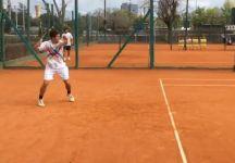 Il giovane Andres Gabriel Ciurletti è diventato un giocatore italiano da qualche settimana (Video)