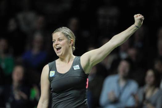 La Clijsters torna a giocare: