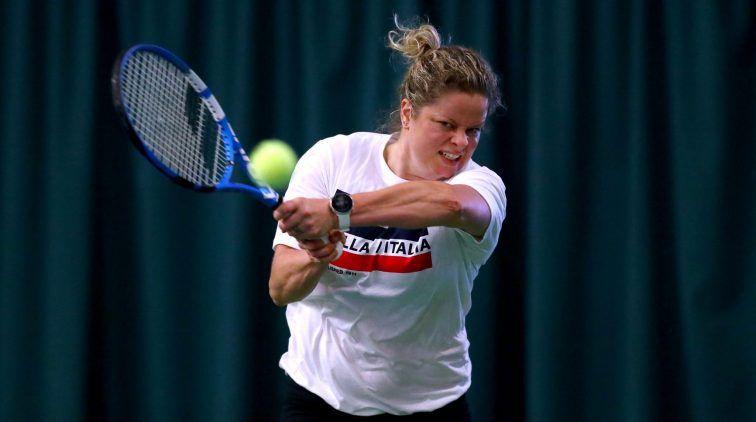 Kim Clijsters nella foto