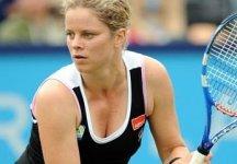 Kim Clijsters ritorna in campo per un'esibizione a sorpresa con Andrea Petkovic
