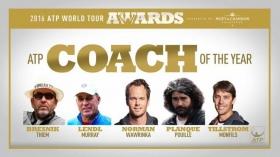 I migliori allenatori dell'anno secondo l'ATP