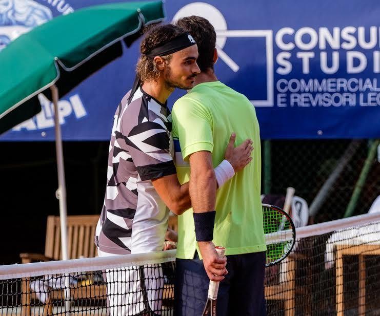 Collarini inarrestabile: in finale contro Galovic. Doppio a Trusendi-Vavassori - Foto Antonio Milesi