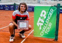 Andrea Collarini vince il Challenger dell'L'Aquila