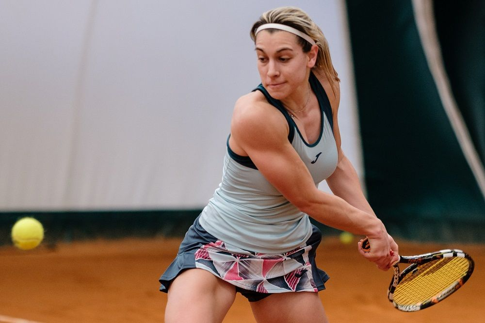 Martina Colmegna, giocatrice dell'USD Tennis Beinasco