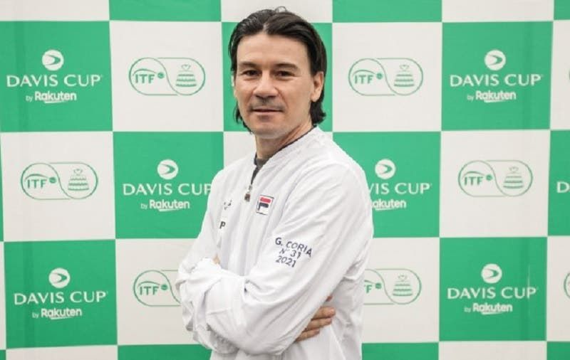 Guillermo Coria nella foto
