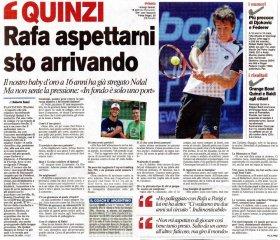 Gianluigi Quinzi classe 1996, n.558 del mondo - best ranking