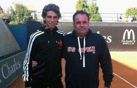 Cosimo Napolitano coach e padre di Stefano - Foto Alessandro Nizegorodcew