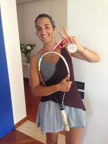 Francesca Costalonga, vicentina classe 1994, frequenterà l'ASA Junior College di Brooklyn (New York)