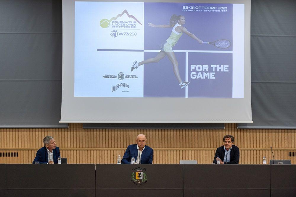 Courmayeur porta il grande tennis sul tetto d'Europa