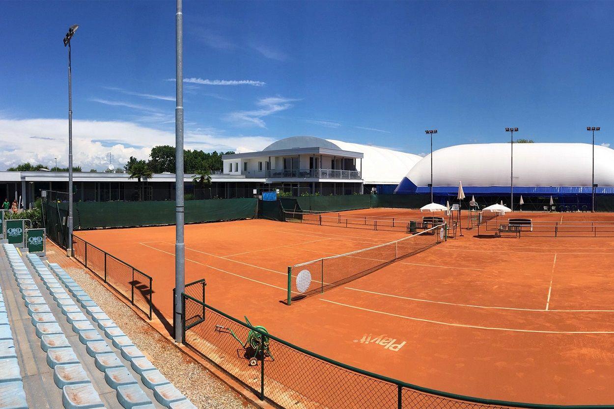 campi del Tennis Club Crema, di nuovo sede di uno dei cinque tornei internazionali under 16 in programma in Italia nel 2019