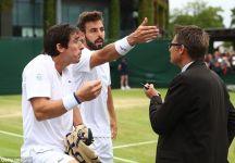 Wimbledon: Pesante multa per Cuevas e Granollers dopo che Pablo aveva cercato di urinare in campo