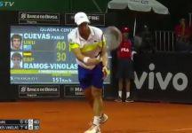 Video del Giorno: Pablo Cuevas gioca il match point con il servizio da sotto (e conquista il punto e titolo)