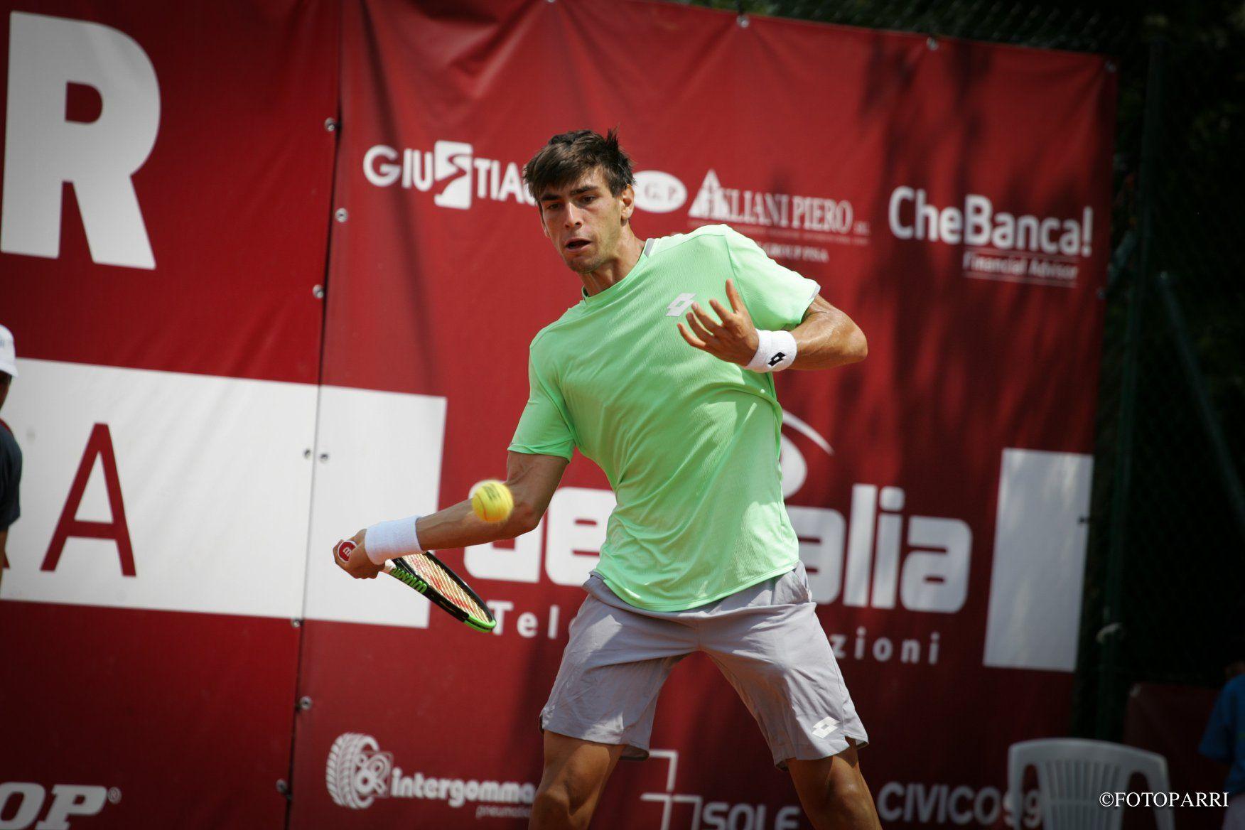Enrico Dalla Valle nella foto