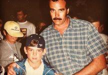 Il commovente saluto di Juan Martin Del Potro a papà Daniel