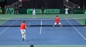 Lo sfortunato incontro di Fognini-Bracciali in Davis Cup