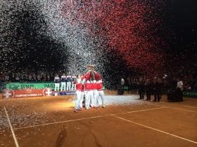 La Svizzera ha vinto la Davis Cup edizione 2014