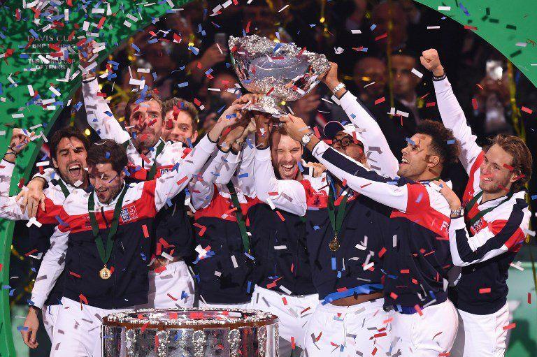 La vittoria in video della Francia nella finale di Davis Cup 2017