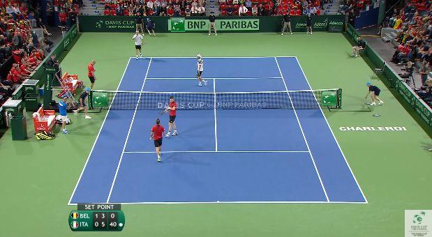 Video del Giorno: Il successo di Seppi-Bolelli in Davis contro Bemelmans-De Loore