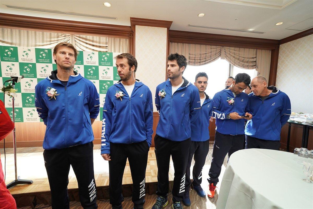Live l'Italia in Davis Cup