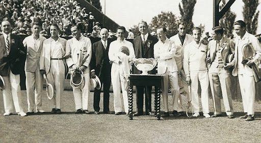 1928: Finale di Davis Francia vs. USA