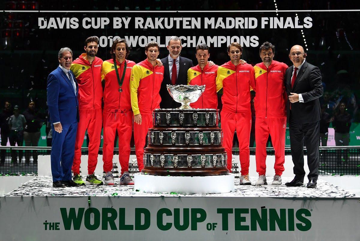 Premiazione Spagna Davis Cup 2019 - Foto Ray Giubilo