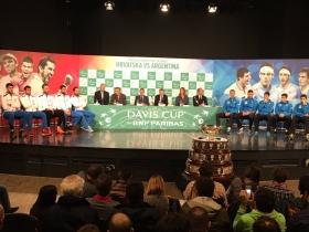 Davis Cup - Finale: Croazia vs Argentina. Effettuato il sorteggio.