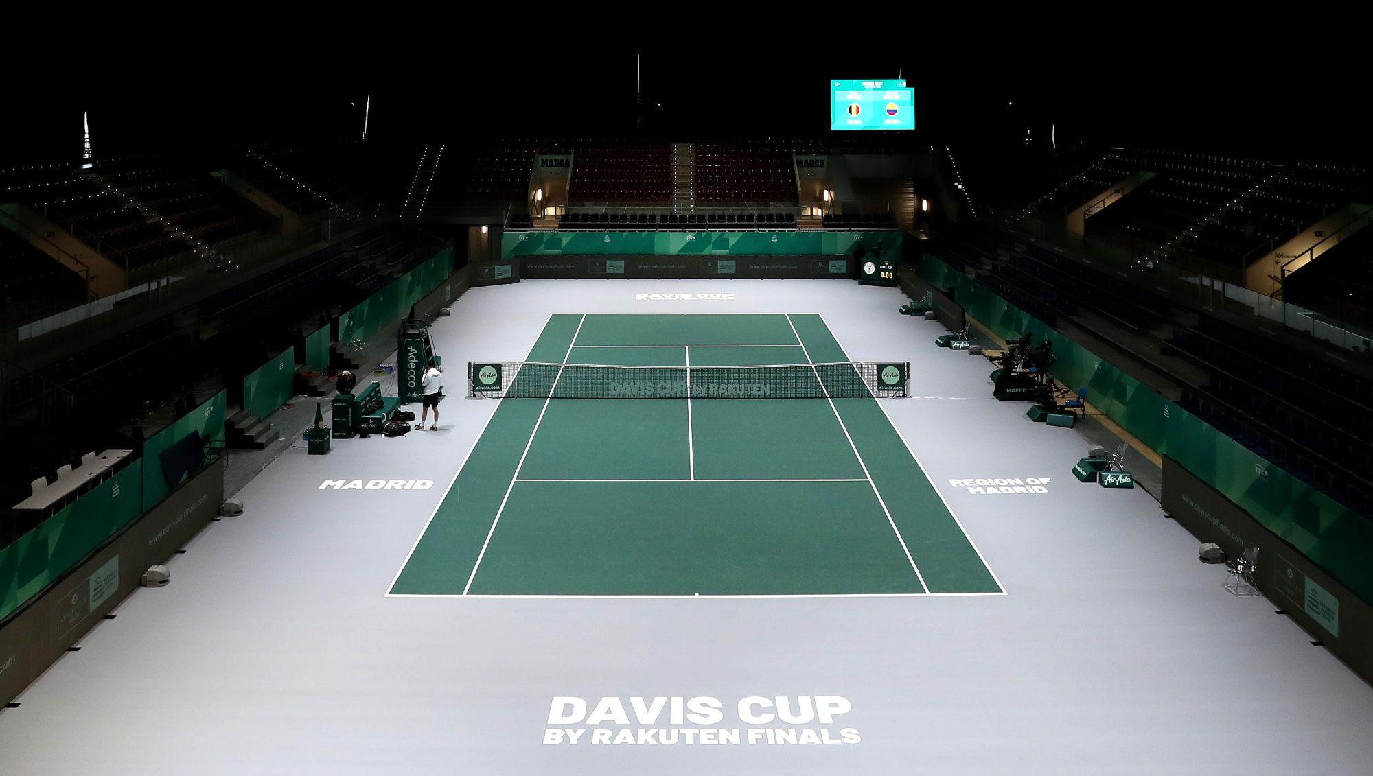Coppa Davis a Madrid 2019