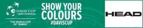 """HEAD è partner ufficiale della Coppa Davis """"BNP Paribas"""""""