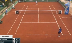 Lo strano match point di Thiemo de Bakker