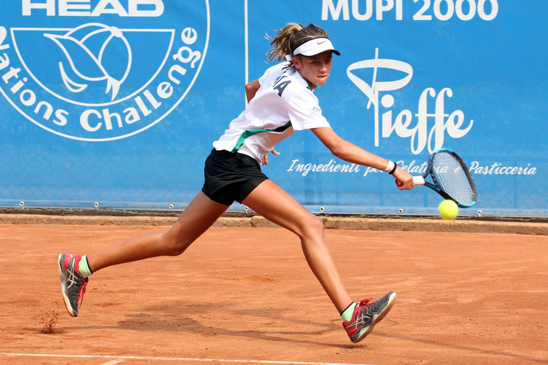 Francesca De Matteo, campana classe 2007, non è riuscita a portare all'Italia un punto