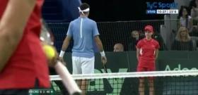 uan Martin Del Potro ed il bellissimo gesto durante la finale di Davis Cup