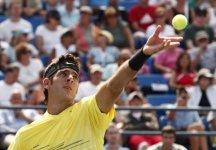 Us Open: Filippo Volandri perde netto da Juan Martin Del Potro