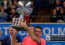 ATP Anversa e Stoccolma: Juan Martin Del Potro dopo quasi 3 anni ritorna alla vittoria. Gasquet vince ad Anversa (Video)