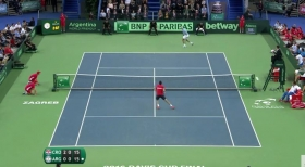 Video del Giorno: L'incredibile lob di Del Potro