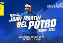 Juan Martin Del Potro dice Sì al torneo dell'Estoril